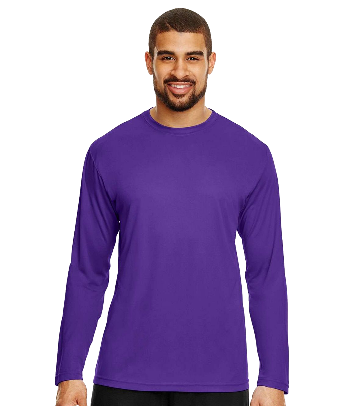Team 365 TT11L Mens Zone Performance Long Sleeve T-Shirt