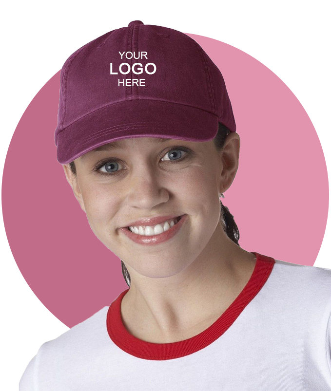 Adams LP101 Logo Embroidered 6-Panel Cap - For Adult