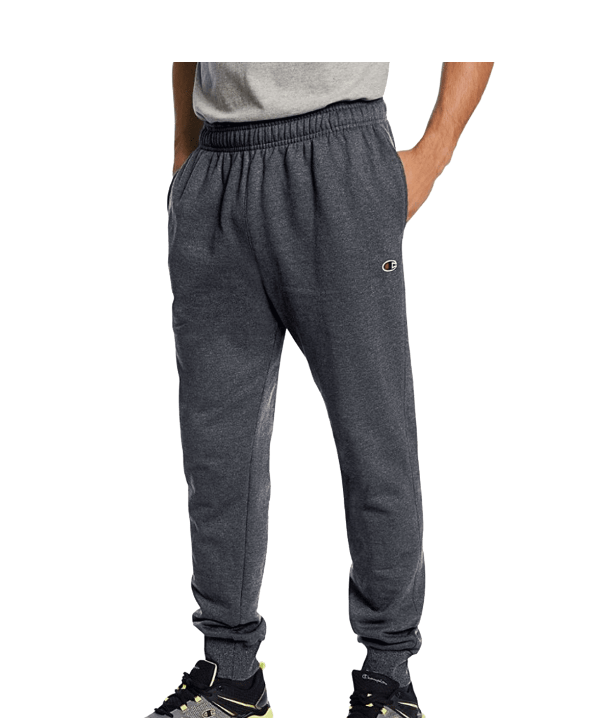 Champion P1022 Mens Powerblend Retro Fleece Jogger Pants