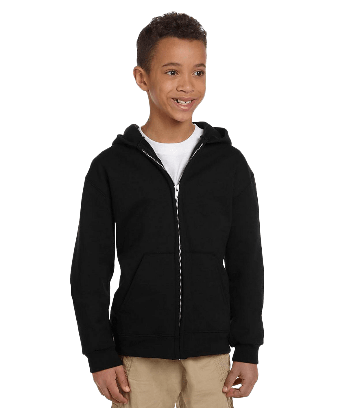 Champion S890 Youth 50/50 EcoSmart Full-Zip Hood