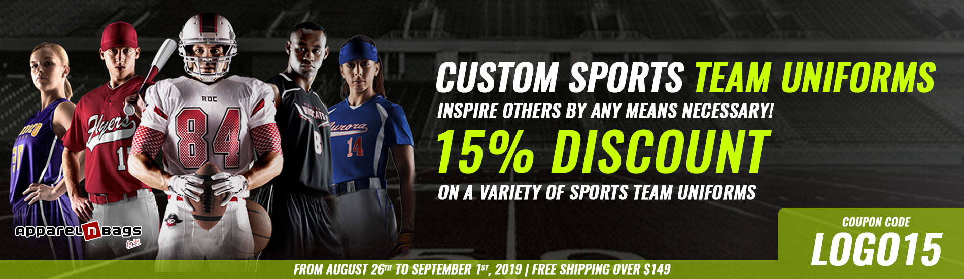 Custom Sports Team Uniforms