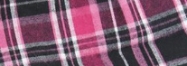 Black/ Hot Pink Plaid