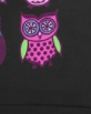 Colorful Owls/Black