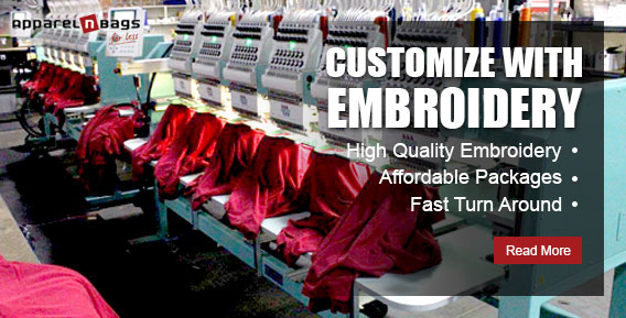 Customize with Embriodery