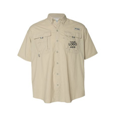 logo embroidered work shirts