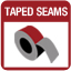 Tamped Seams