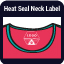 Heat Seal Neck Label