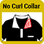 No Curl Collar