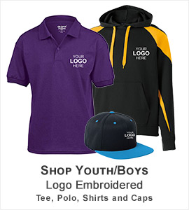 Boys Logo Embroidery