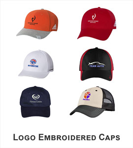 Logo Embroidered Caps