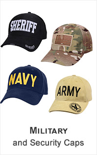 Military and Security Caps