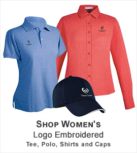 Womens Logo Embroidery