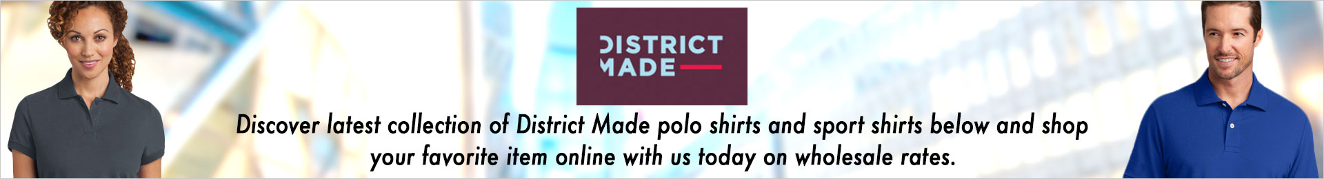District Made Polo And Sports Shirts