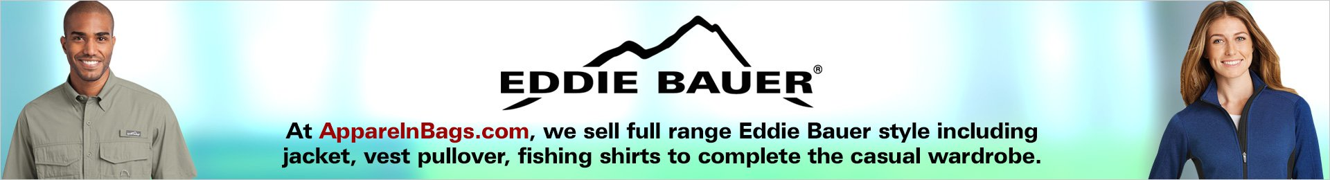 Custom Embroidered Eddie Bauer