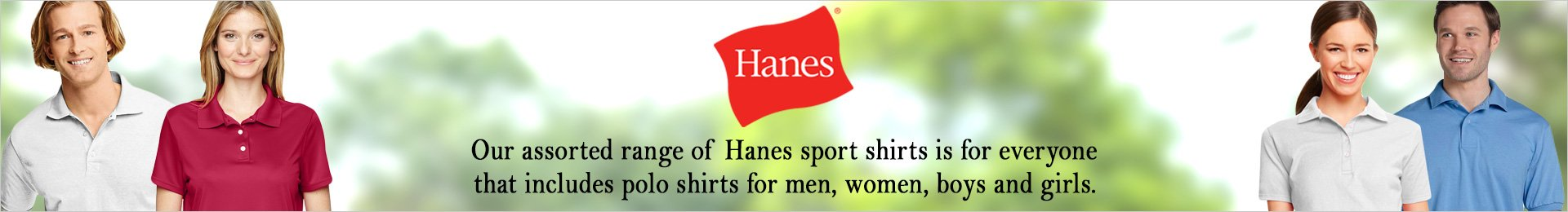 Hanes Polo And Sports Shirts