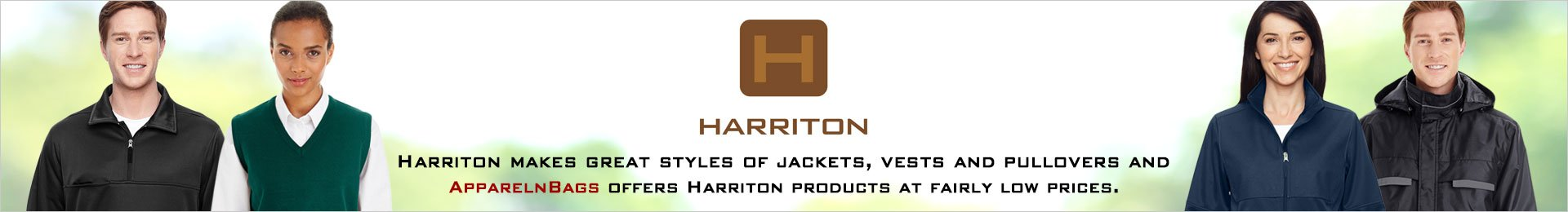 Harriton Jacket, Vest And Pullovers