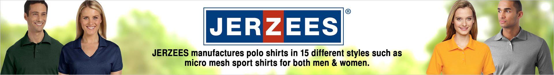 Jerzees Polo And Sports Shirts