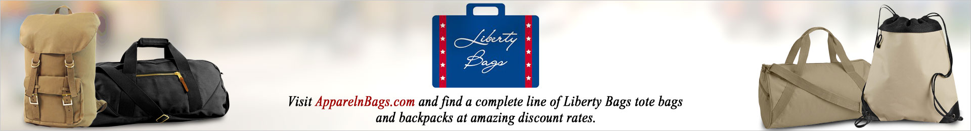 Liberty Bags Tote Bags And Backpacks