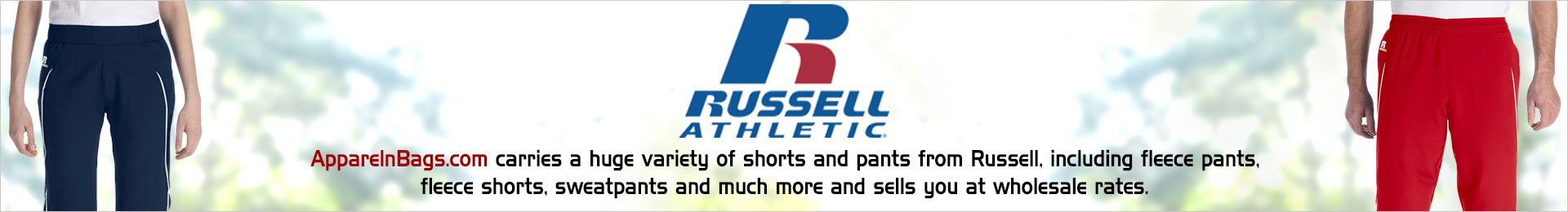 Russell Athletic Pants And Shorts