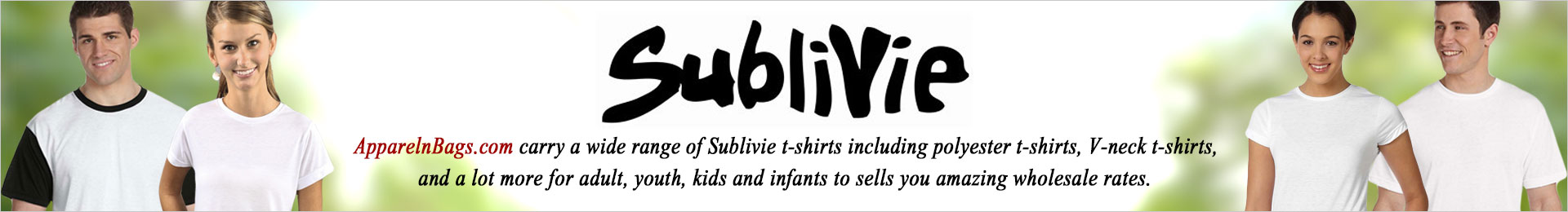 Sublivie Blank T-Shirts