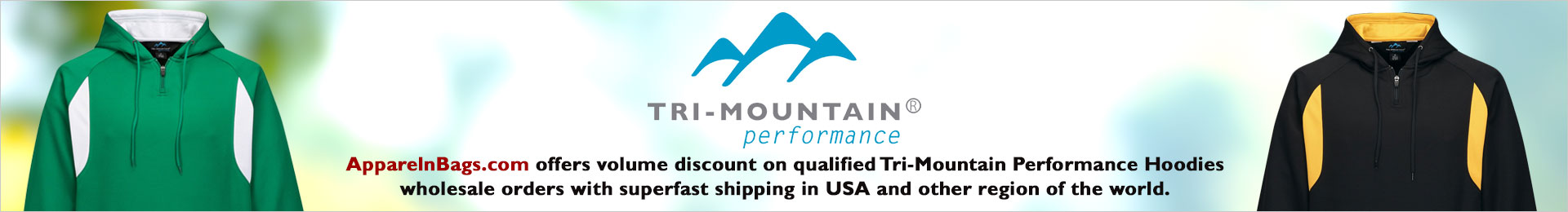 Tri-Mountain Performance Hoodies