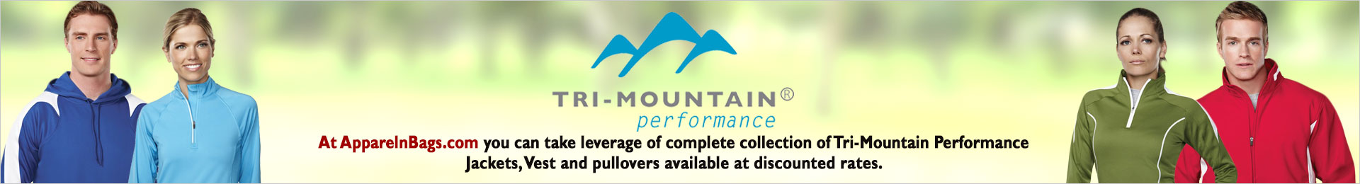 Tri-Mountain Performance Jacket, Vest And Pullovers