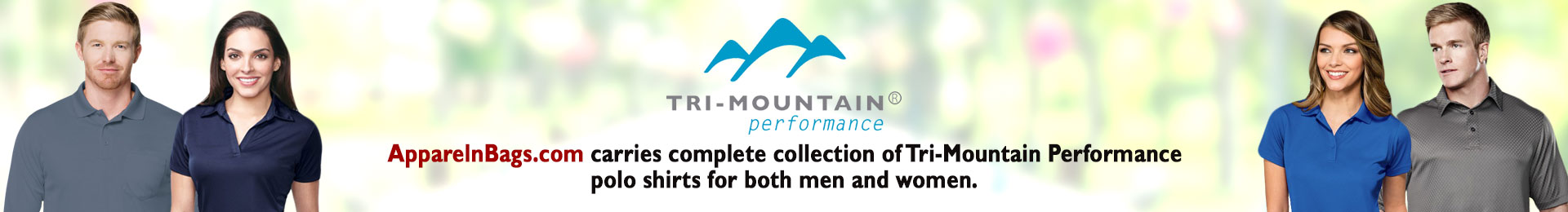 Tri-Mountain Performance Polo And Sports Shirts