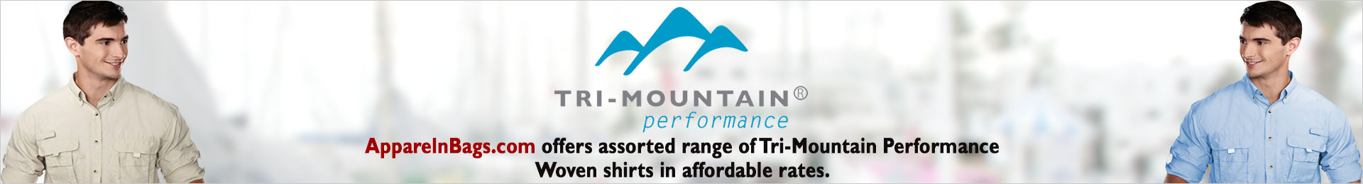 Tri-Mountain Performance Woven And Dress Shirts