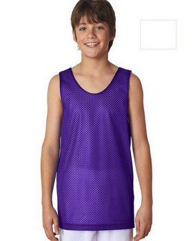 A4 N2206 Youth Reversible Mesh Tank
