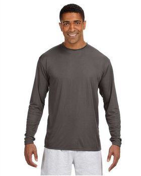 A4 N3165 Men's Cooling Performance Long Sleeve Tee
