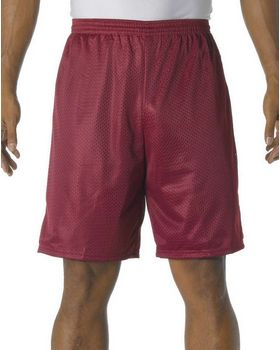 A4 N5296 Men's Tricot-Lined 9 Mesh Shorts