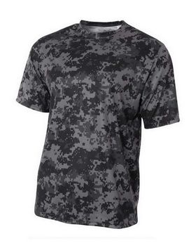 A4 NB3256 Youth Camo T-Shirt