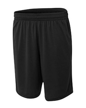 A4 NB5370 Youth Player 8 inch Pocketed Polyester Short