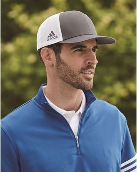Adidas Golf A627 Mesh Colorblock Cap - Shop at ApparelnBags.com