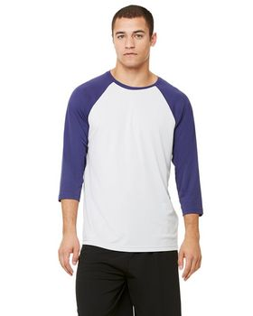 All Sport M3229 Mens Baseball T Shirt - Shop at ApparelnBags.com