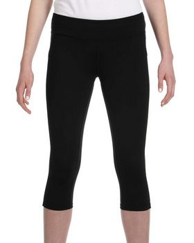 All Sport W5009 Ladies Capri Legging - Shop at ApparelnBags.com