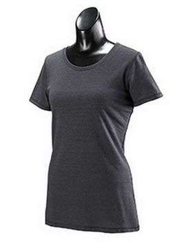 Alo Sport W1101 Ladies Performance Triblend Short-Sleeve T-Shirt