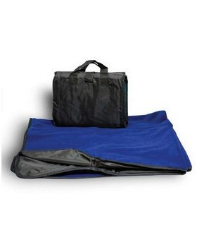 Alpine Fleece 8701 Fleece/Nylon Picnic Blanket