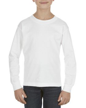 Alstyle AL3384 Youth 6.0 oz.; 100% Cotton Long-Sleeve T-Shirt