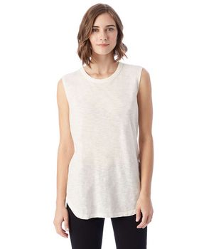 Alternative 2898J1 Inside Out Garment Dye Slub Sleeveless T-Shirt