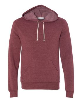 Alternative 9595 Mens Eco-Fleece Challenger Hooded Pullover