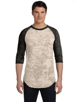 Alternative AA2640 Unisex Big League Burnout Baseball Tee