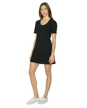 American Apparel RSA2314W Womens Fine Jersey T-Shirt Dress