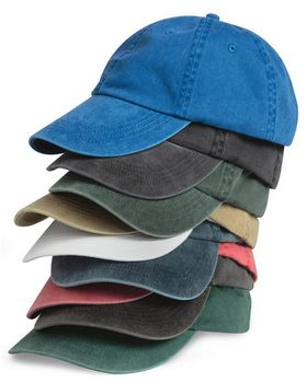 Anvil 146 Solid Pigment Dye Cap - Shop at ApparelnBags.com