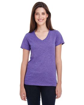 Anvil 392A Ladies Sheer V-Neck T-Shirt