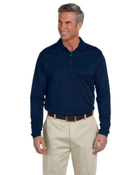 Ashworth 1352 Mens EZ-Tech Long-Sleeve Polo