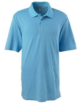 Ashworth 2203C Mens EZ Tech S Sleeve Textured Polo