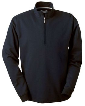 Ashworth 4747C Men's Micro Brushed Half-Zip Jacket