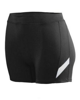 Augusta Sportswear 1336 Girls Wicking Poly/Span Short