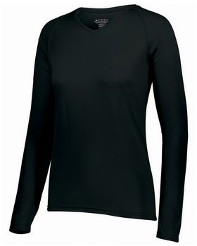 Augusta Sportswear 2797 Ladies Attain Wicking Long-Sleeve T-Shirt